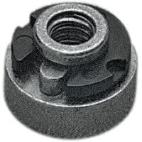 "Seat Mount Nut & Replacement ""E"" Clip for Harley Davidson (59768-97)"