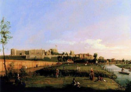 Canaletto, Giovanni Antonio Canal: Windsor Castle. Fine Art Print.  (003455)
