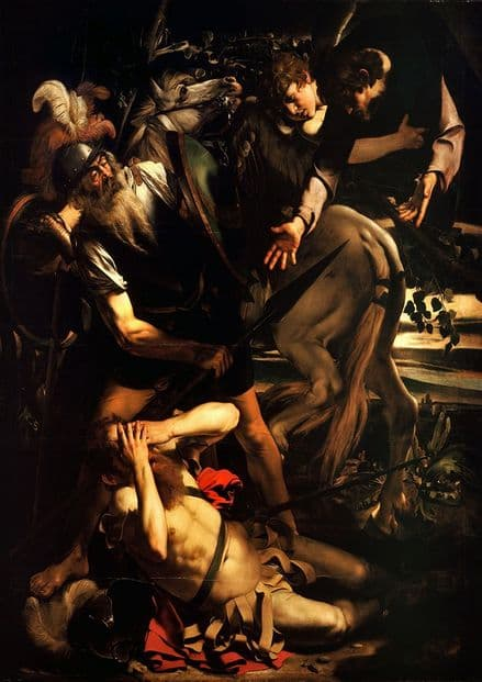 Caravaggio, Michelangelo Merisi da: The Conversion of Saint Paul. Fine Art Print.  (002065)