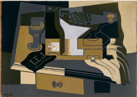 Gris, Juan: Le Moulin à Café (Coffee Grinder). Fine Art Print.