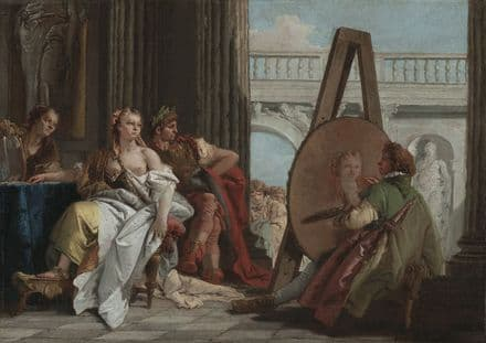 Tiepolo, Giovanni Battista: Alexander the Great and Campaspe in the Studio of Apelles.