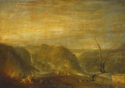 Turner, Joseph Mallord William: The Rape of Proserpine. Fine Art Print.  (003540)