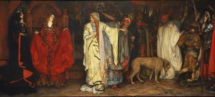 Abbey, Edwin Austin: King Lear Act I, Scene I. Fine Art Print/Poster (5236)