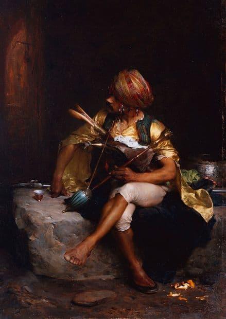 Bargue, Charles: A Bashi-Bazouk . Fine Art Print/Poster (5241)