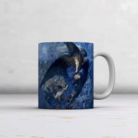 Edward Robert Hughes: Night with her Train of Stars. Fine Art Mug/Cup (Coffee/Tea Mug)