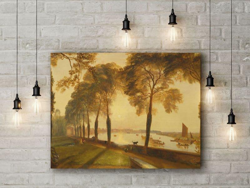 J.M.W. Turner: Mortlake Terrace. Fine Art Canvas.