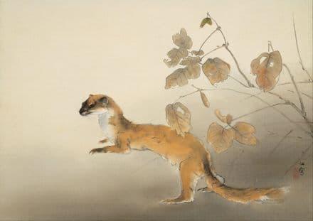 Kansetsu, Hashimoto: Autumn Farm. Japanese Fine Art Print/Poster. Sizes: A4/A3/A2/A1 (004061)