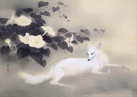 Kansetsu, Hashimoto: Summer Evening. Japanese Fine Art Print/Poster. Sizes: A4/A3/A2/A1 (004063)