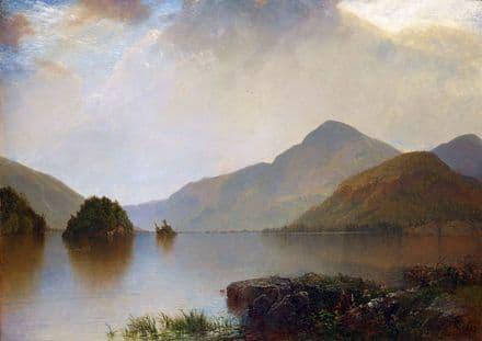 Kensett, John Frederick: Lake George. Fine Art Print/Poster (5265)