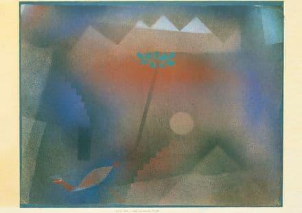 Klee, Paul: Bird Wandering Off. Fine Art Print/Poster (4982)
