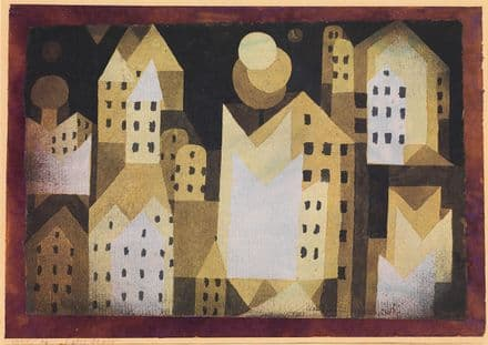 Klee, Paul: Cold City. Fine Art Print/Poster (4983)