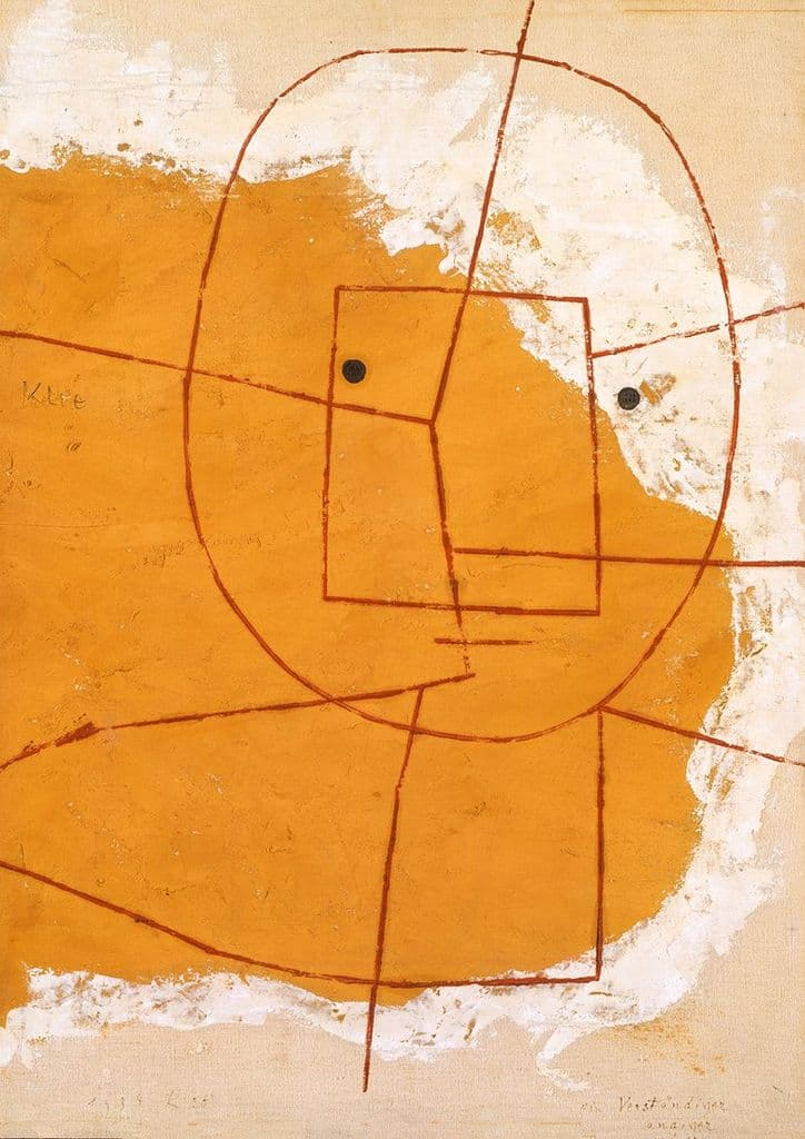 Klee, Paul: One Who Understands. Fine Art Print/Poster (4996)
