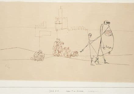 Klee, Paul: Scene/Episode B at Kairouan. Fine Art Print/Poster (5003)