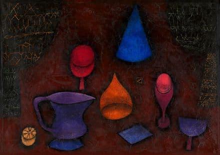 Klee, Paul: Still Life. Fine Art Print/Poster  (4993)