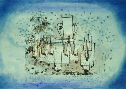 Klee, Paul: The Chair-Animal (1922). Fine Art Print/Poster (4977)