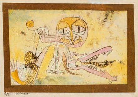 Klee, Paul: The Hypocrites. Fine Art Print/Poster (4984)