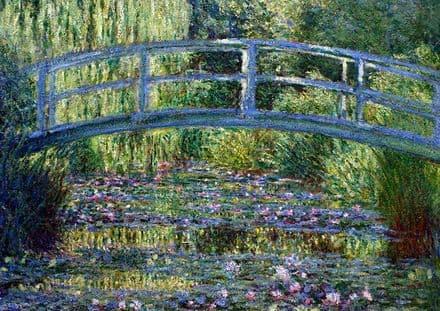 Monet, Claude: Le Pont Japonais a Giverny. Fine Art Print/Poster. Sizes: A4/A3/A2/A1 (005)