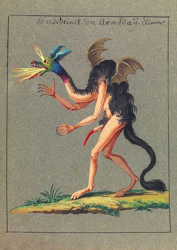 Occult Art: Compendium Rarissimum, Folio 43 (c. 1775). Fine Art Print/Poster (4786)