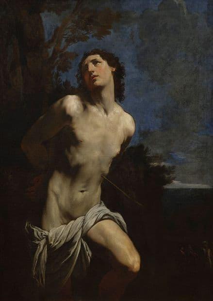 Reni, Guido:  Saint Sebastian. Fine Art Print/Poster. Sizes: A4/A3/A2/A1 (002094)