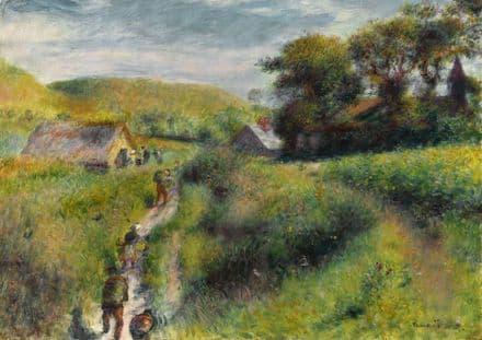 Renoir, Pierre Auguste: Les Vendangeurs. Fine Art Print/Poster. Sizes: A4/A3/A2/A1 (004276)