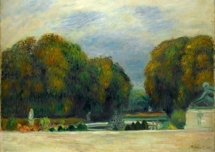 Renoir, Pierre Auguste: Versailles. Fine Art Print/Poster. Sizes: A4/A3/A2/A1 (004266)