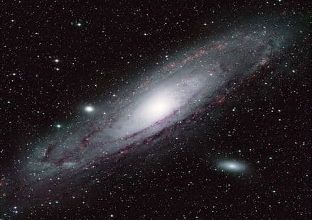The Andromeda Galaxy M31. Space Print/Poster/Canvas. Sizes: A3/A2/A1