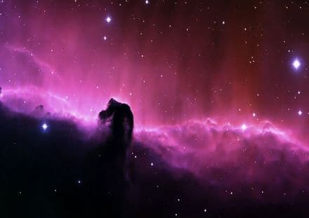 The Horsehead Nebula (Constellation Orion) Space Print/Poster. Sizes: A1/A2/A3/A4 (003247)