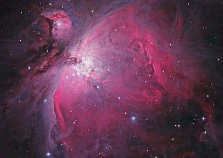 The Orion Nebula M42. Space Print/Poster/Canvas. Sizes: A3/A2/A1