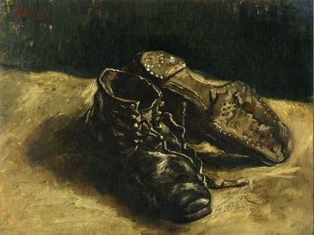 Van Gogh, Vincent: A Pair of Shoes. Fine Art Print/Poster (004202)