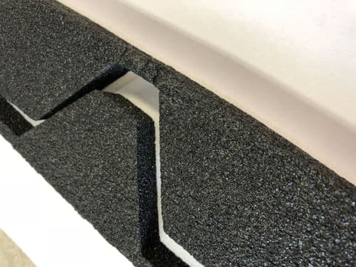 Foam Eaves Fillers Profile 32/1000 167 Pitch 10 Pack