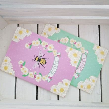 £2 Bee-autiful notebooks