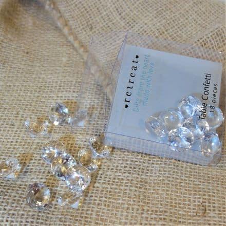 £2 Diamond table confetti