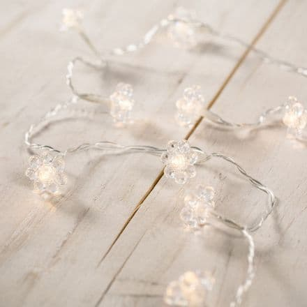 20% OFF Crystal Daisy LED string lights garland