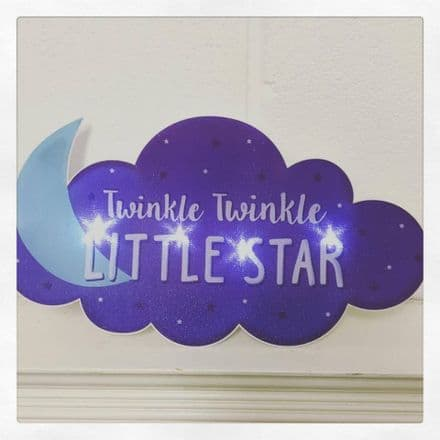 30% OFF  'TWINKLE TWINKLE...' TOUCH LAMP NIGHTLIGHT
