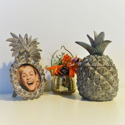 50% OFF Pineapple Frame and Trinket box