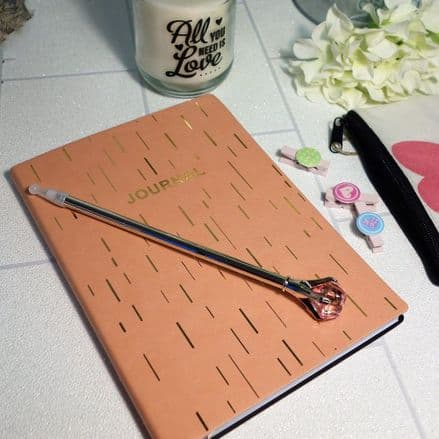 60% OFF Soft touch Peach A5 Journal