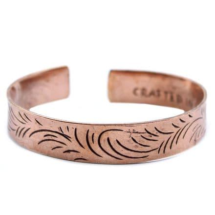 Copper Tibetan Mantra Bracelet