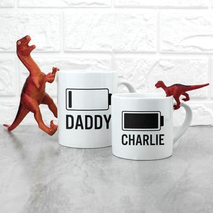 Daddy & Me Battery Mugs