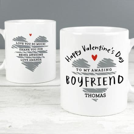 Happy Valentine's Day Mug (Personalise me)