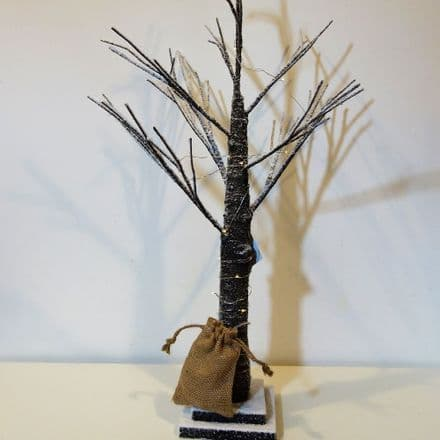 Only £8 Large Brown Snow Covered Twig Tree