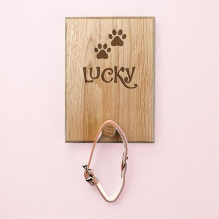 Paw print pet hook
