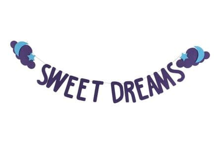Sweet Dreams Felt Bunting
