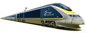 Kato 10-1297 Eurostar (2015) 8 Car Powered Set (New Livery)