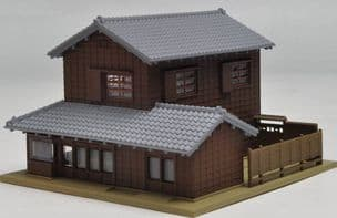 Kato 23-453 Corner Shop with Traditional Eaves 2 (Right)