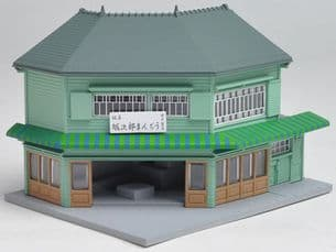 Kato 23-476 Billboard Structure Corner Shop 1