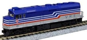 Kato (USA) 176-9002 EMD F40PH Virginia Railway Express No.V34