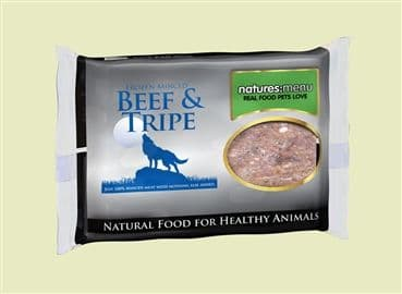 BEEF & TRIPE MINCE 400G : pack of 12