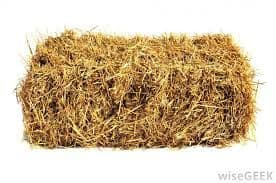 STRAW BALES FOR HIRE – min. order 20 bales : ring or email for prices