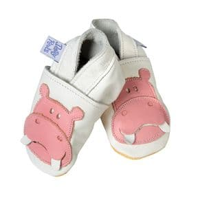 White Baby Booties