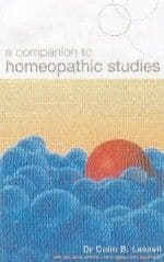 Lessell, Dr C - A Companion to Homoeopathic Studies